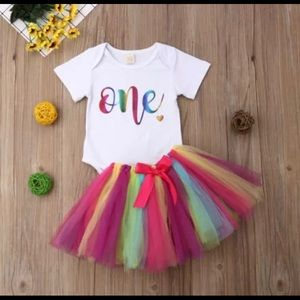 Other - NEW 1sr BIRTHDAY TUTU SET